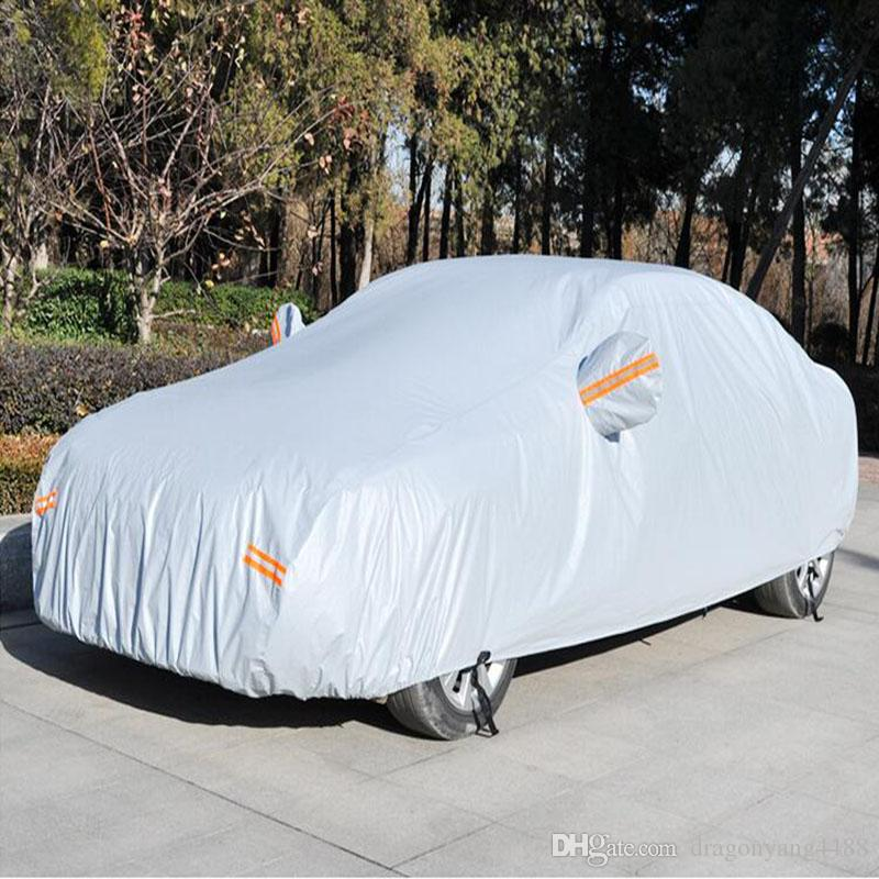 Outdoor Full Car Cover Sun Uv Snow Dust Resistant Protection Size