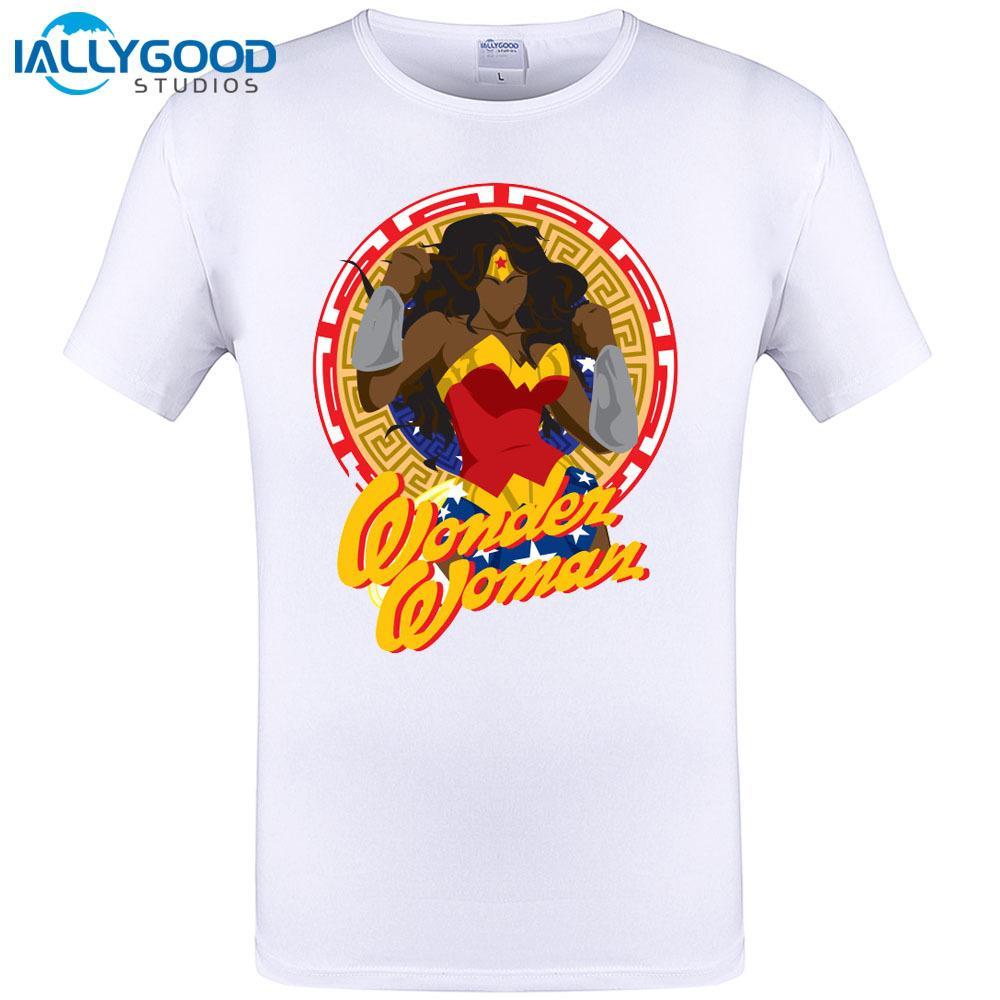 2018 Stampata Woman Wonder Fashion Maglietta Acquista e29HDbEYWI