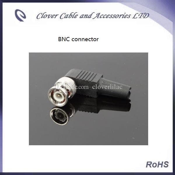Envío Gratis 20 UNIDS Lote Cámara Accesorio Sin Soldadura BNC Q9 CCTV Macho BNC Enchufe de Video para Cableado