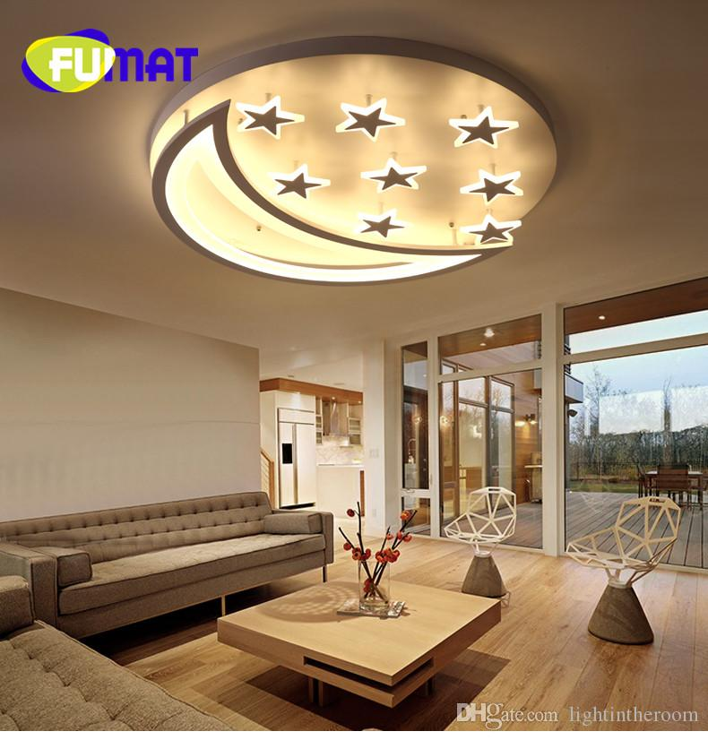 Latest Living Room Ceiling Design: 2019 FUMAT New Design LED Ceiling Light For Living Room