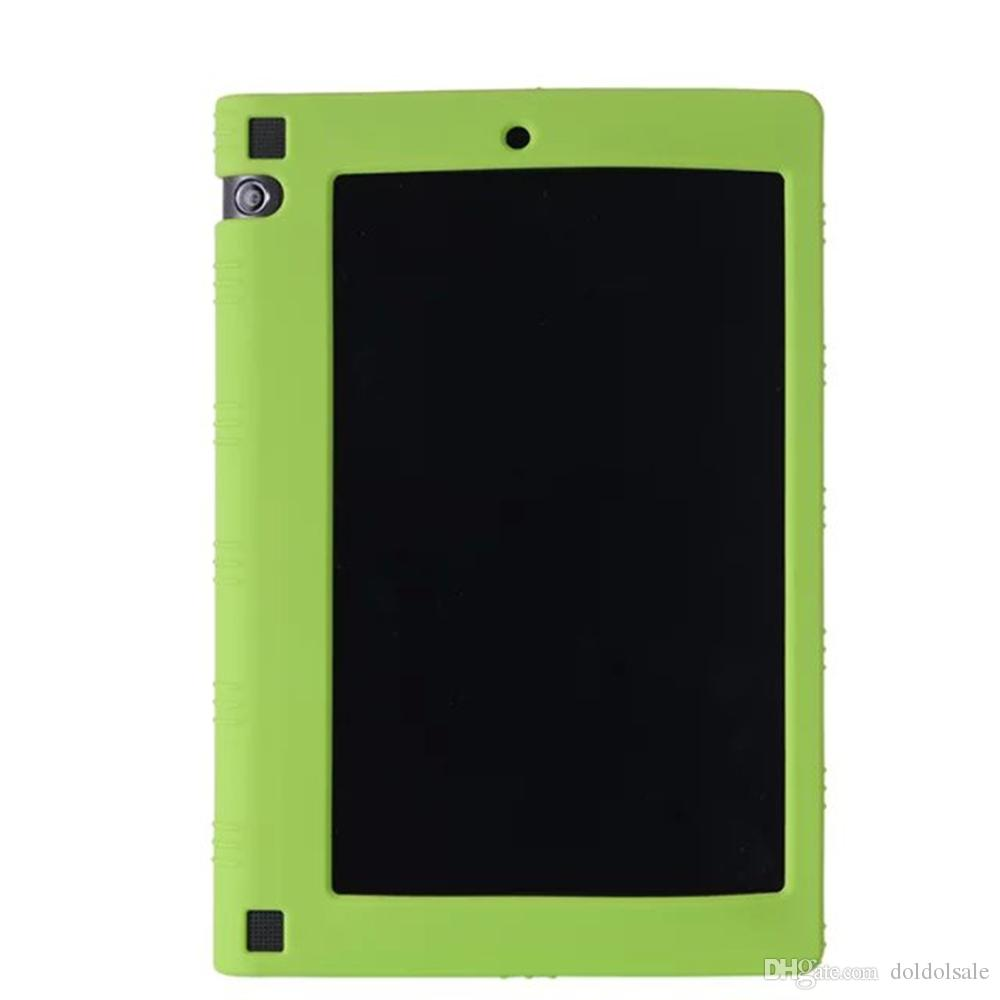 """Soft Silicon Back TPU Cover for Tablet Lenovo Yoga Tab 3 8"""" 850F YT3-850F 850L 850M Silica Gel Protective Case"""