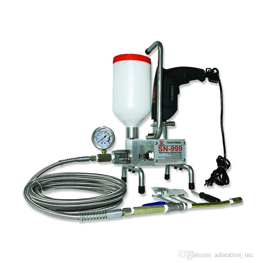 Satmak Satmak Derzat Makinesi XBoss Poliüretan Enjeksiyon Pompası House Crack Onarım Puepoxy Enjekte