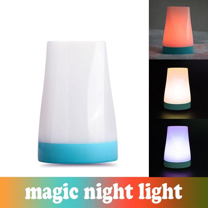2018 Led Magic Night Light Bedside Kids Desk Lamp Color Change 3 Levels Brightness Rgb From Zdelectronic 13 07 Dhgate Com