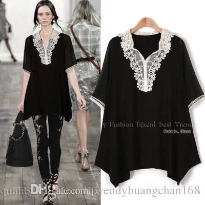 Collared Short Sleeve Blouse