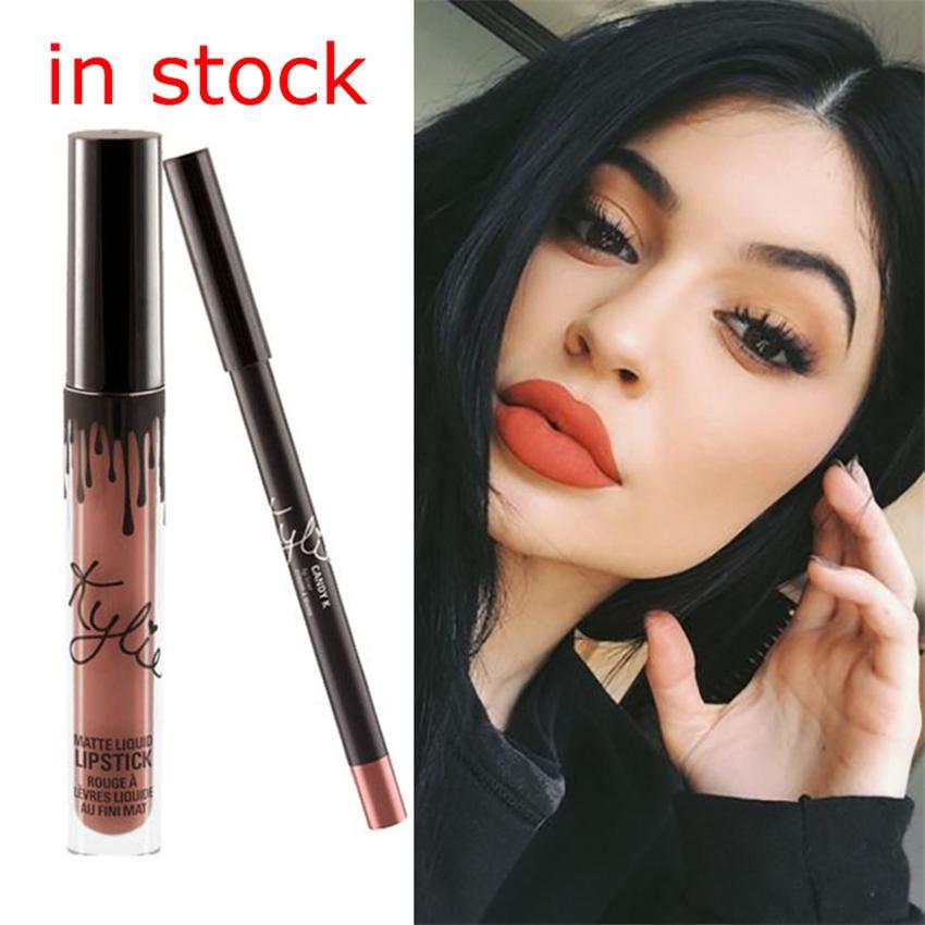 2016 hot cosmetics kylie lip kit by kylie jenner lipstick kylie lip gloss liquid lipstick matte
