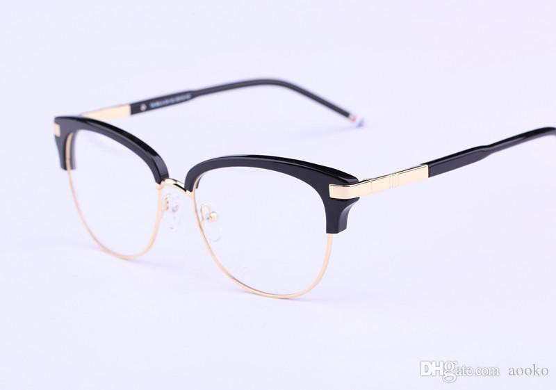 510d718f539 2019 Hot Sale Brand Tb Eyewear TB505 Eyeglasses Frames Myopia Reading Optical  Frame Speatacle Glasses Frame For Men And Women 55mm With Case From Aooko