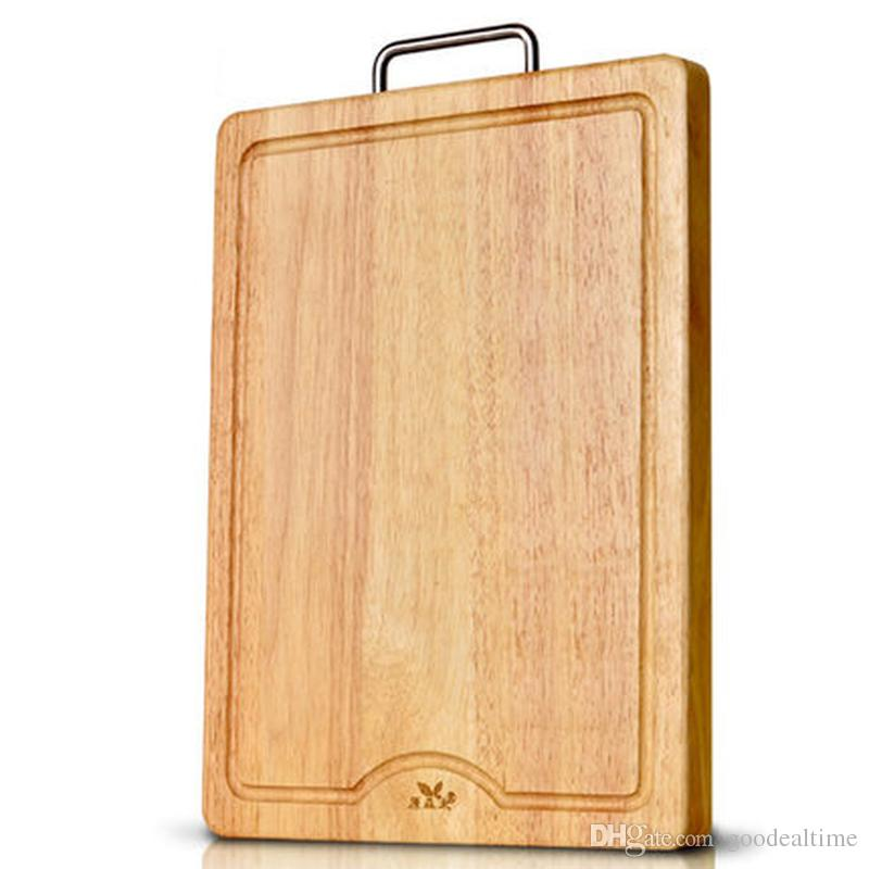 Large Wooden Chopping Board With Handle