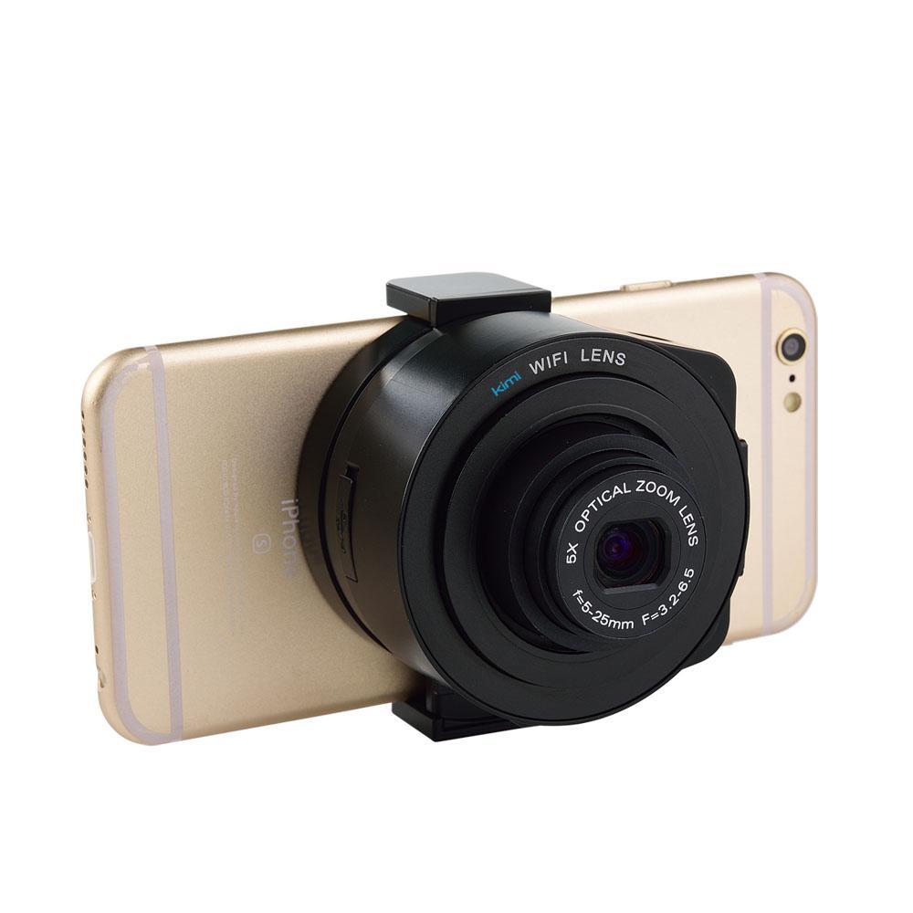 Compre Kimi Lente De Estilo 20mp 1080 P Wifi Cámara Digital Selfie ...