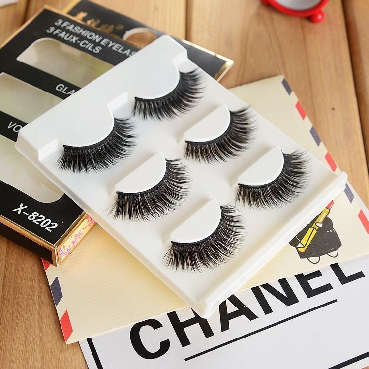 c7feb032a8d False Eye Lashes Tool 3 Pack Demi Wispies Eyelashes Hot Sale ...