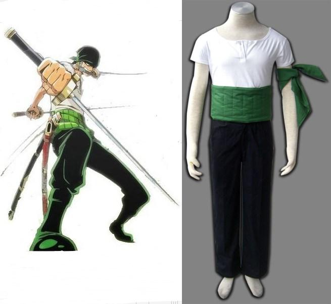 One Piece Cosplay Roronoa Zoro Cosplay Cosumes Cheap Anime Costumes