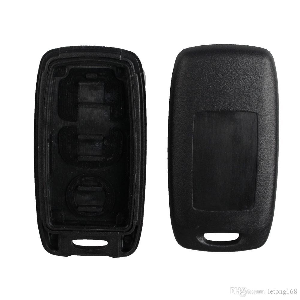 Garantizado 100% 3 botones Reemplazo de la cáscara de la llave del coche Reemplazo de la cáscara Shell dominante para MAZDA 3 6 Protege 5 MPV Envío gratis
