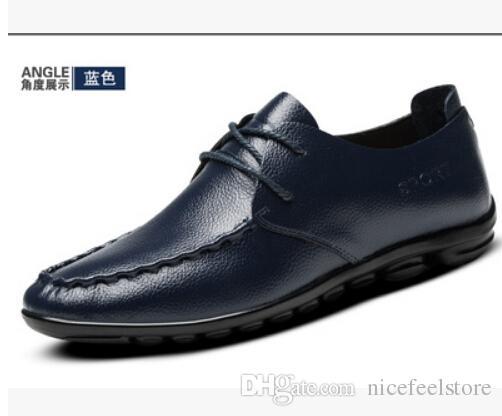Натуральная кожа мужчины квартиры обувь,бренд ручной работы мужчины повседневная кожаная обувь,кожа мокасины,мода Мужская обувь