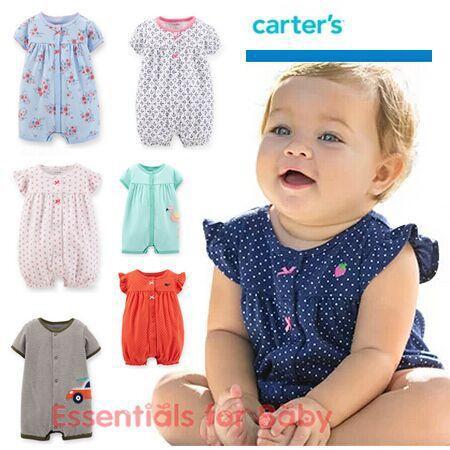 Großhandel 2016 Sommer Carters Babymädchen Kleidet Einteilige ...