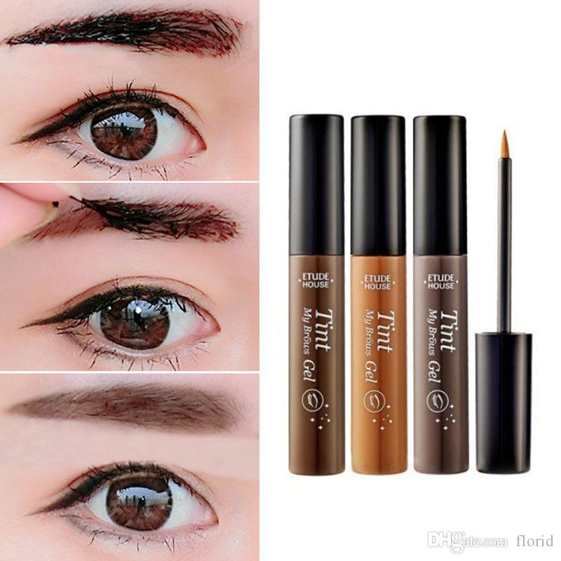 Tearing Eyebrow Dye Liquid Mascara Cream Eye Brow Shadow Makeup Set