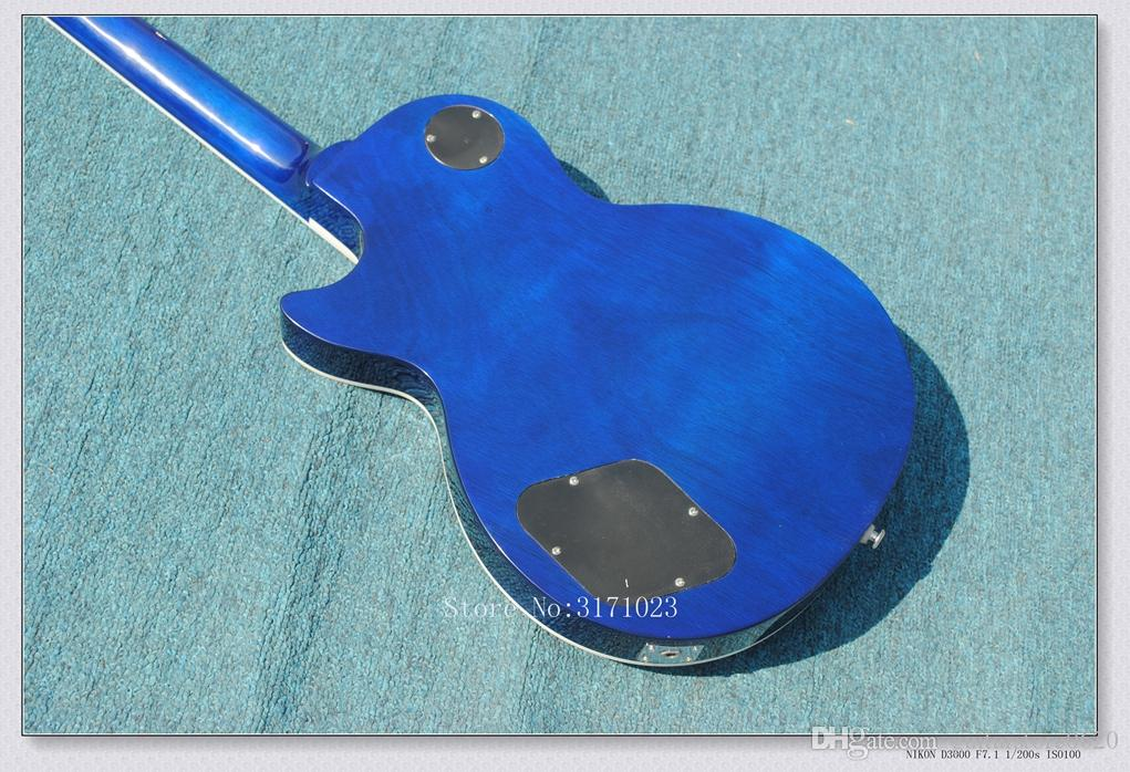 New Arrival Custom Shop blue Slash Electric guitar OEM Guitars Accept customize any color High Quality Musical instruments