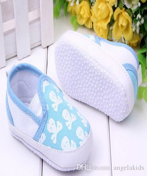 toddler shoes Baby Shoes Printed Skulls Soft Sole Toddler Slip-on Baby Doll Infant Baby PU Leather First Walker Shoes
