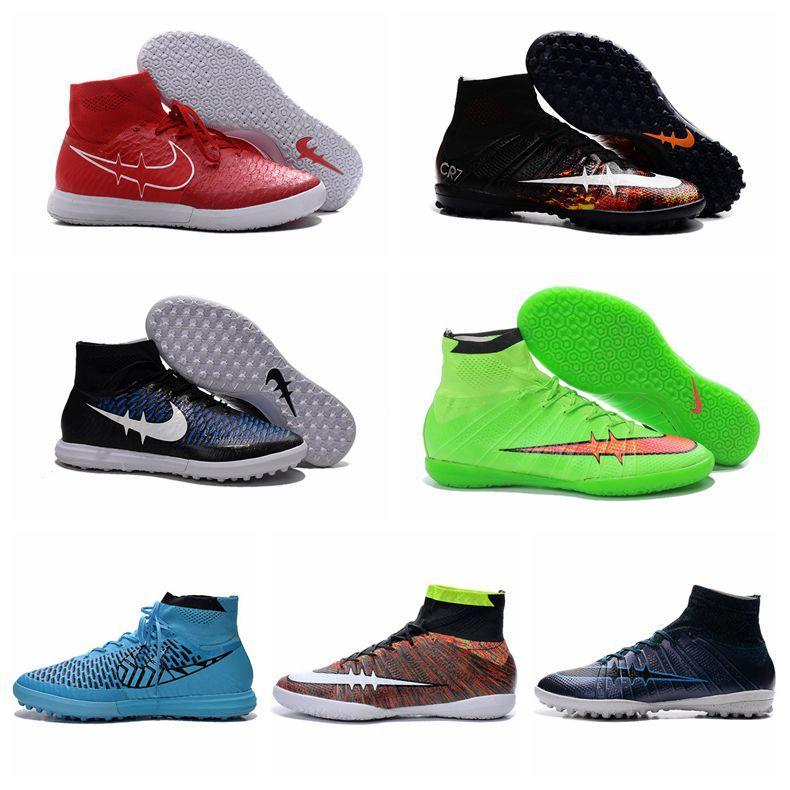 Children Hot Sale Superfly Cr7 Ic Kids Indoor Soccer Shoes Mens Boys High  Ankle Football Boots Superfly Fg Indoor Soccer Boots Original Kids Swim  Shoes Kid ...