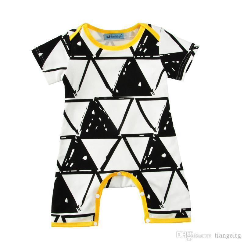 Neue Kinder Kleidung Sets Black Lip Overalls Winter Herbst Frühling Langarm Baby Casual Anzüge Infant Strampler 0-24 Mt