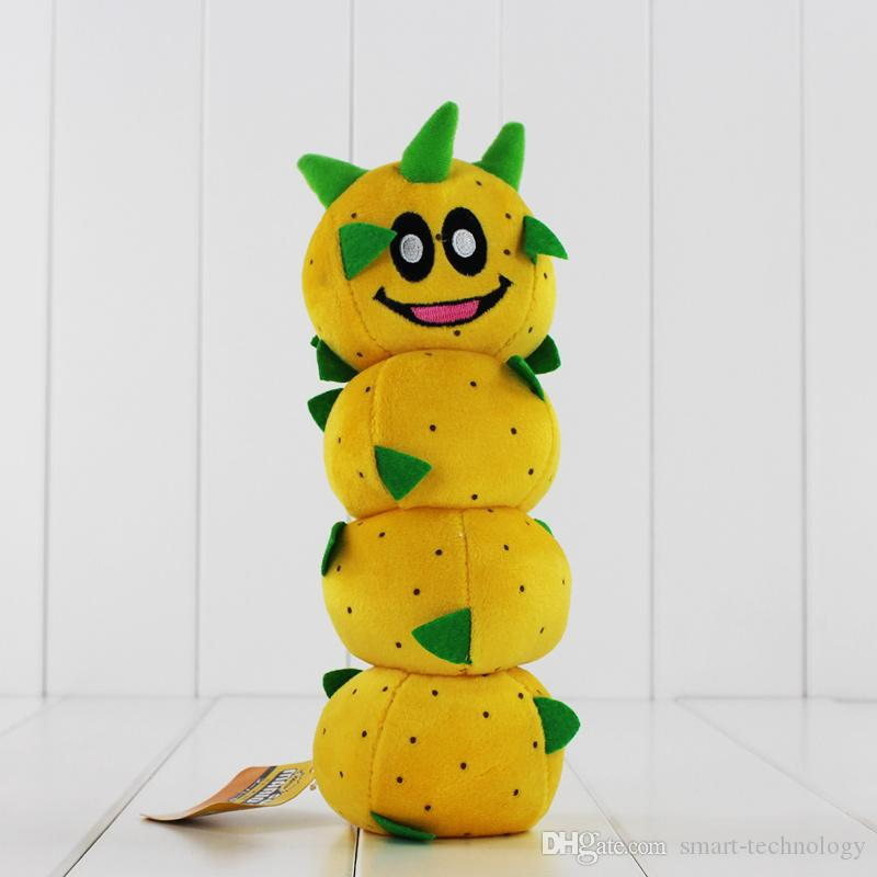 New Arrival Super Mario Bros Caterpillar Pokey Sanbo Cactus Plush Doll Toy 23cm