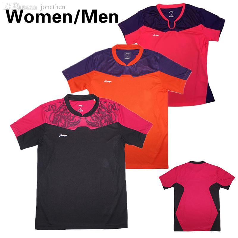 2018 Wholesale New Li Ning China Table Tennis Series Women Men S Jersey  d5c386870