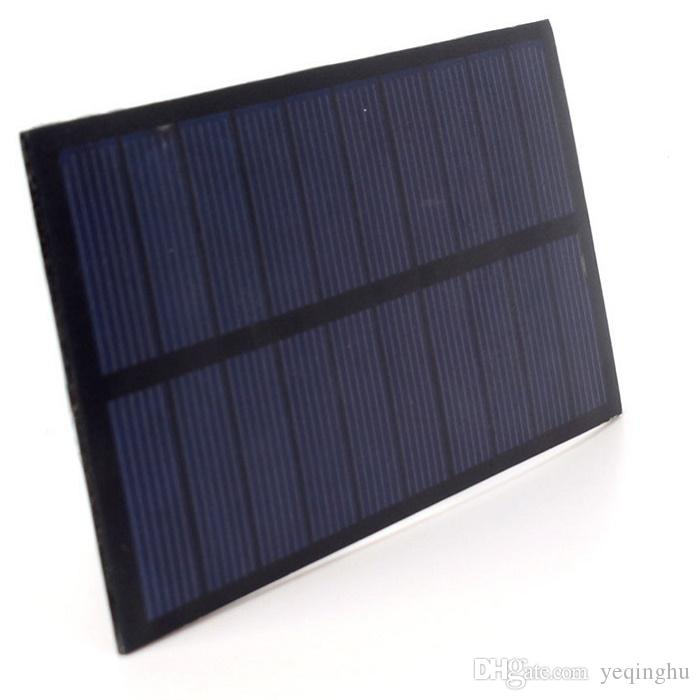 Wholesale! New 5V 1.5W Mini Solar Panel Solar Power For 3.6V Battery Charger Solar Cell Education Kits High Quality
