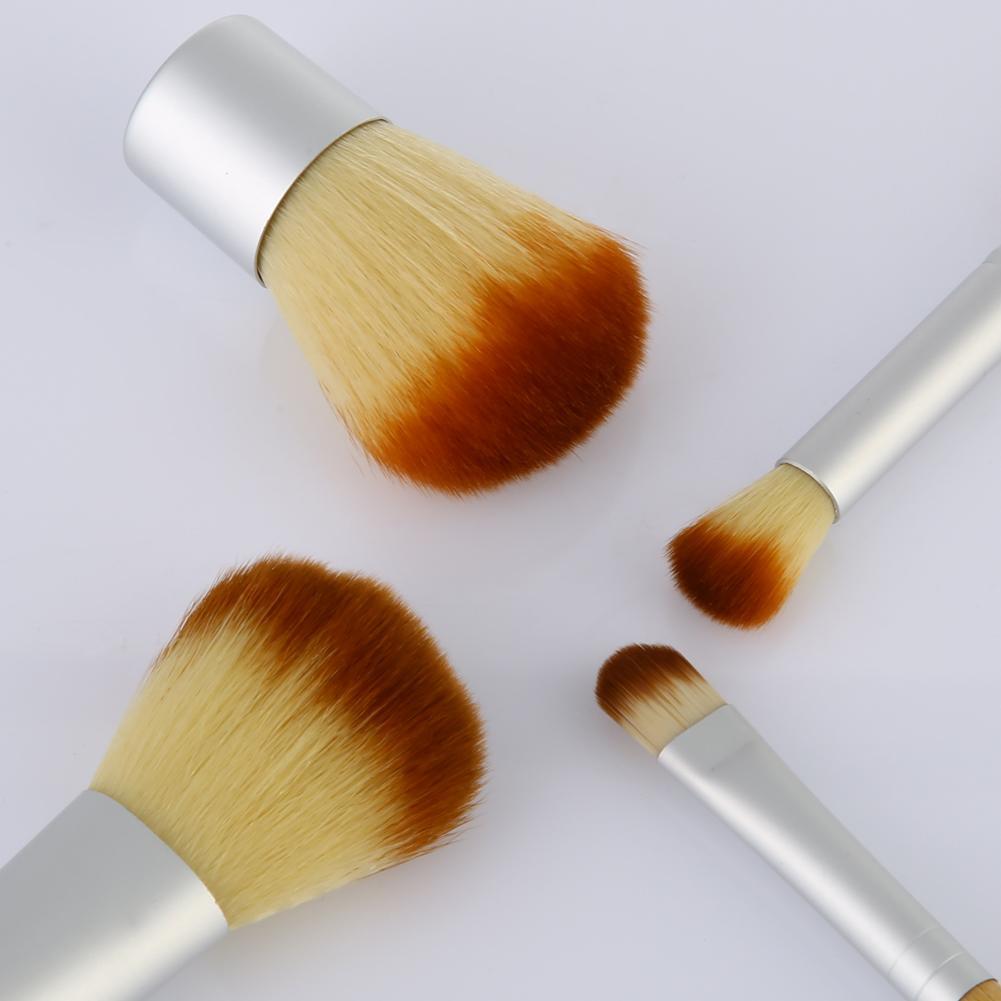 Meslek Makyaj Fırçalar 4 Adet / takım Fırçalar Metal Fırçalar Makyaj Kozmetik Fırça Seti Setleri Makyaj Araçları Ücretsiz Kargo