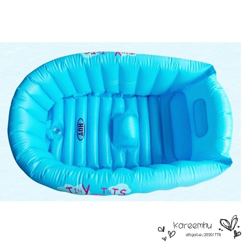2018 Inflatable Baby Bathtub Swimming Pool Cartoon Safety Bath Tub ...