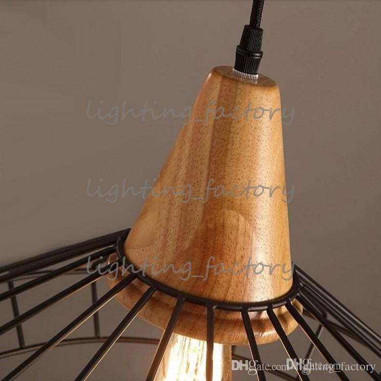 new arrivals retro Loft industrial vintage pendant lights Bar Kitchen Home Decoration E27 Edison Light Fixtures Iron Pulley Lamp