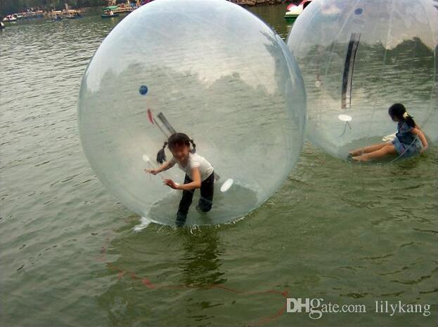 e85a45b119 Compre New Chegou 2 M Grande Água Andando Bola PVC Inflável Bola Zorb Bola  Água Caminhada Bolas Bolas De Dança Esportes Bolas Livre DHL De Lilykang