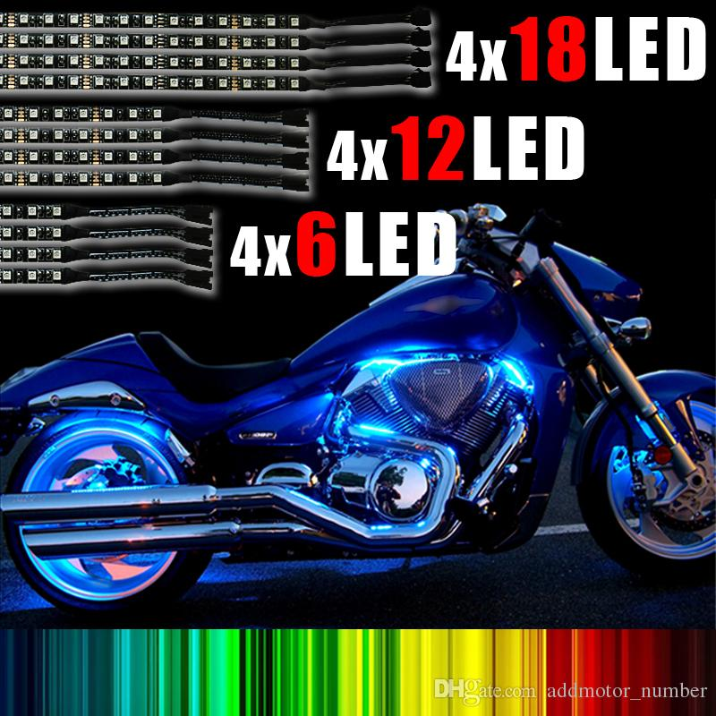 Addmotor multi color convenient motorcycle led light strips kit addmotor multi color convenient motorcycle led light strips kit universal led lighting c1902 thin led strip 240v led strip from addmotornumber aloadofball Choice Image