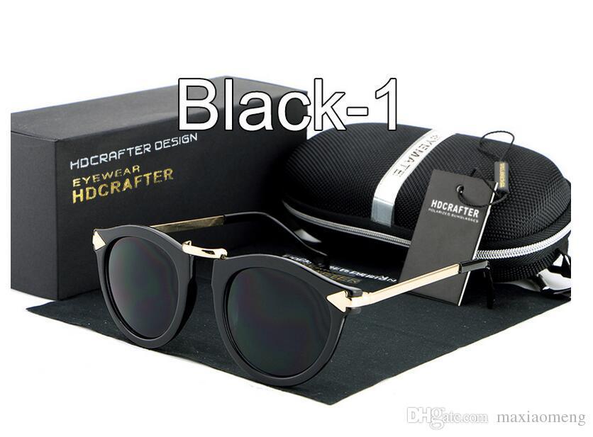 Stile retrò HDCRAFTER marca Occhiali da sole donna Personalità della moda Designer driveing HD super leggero Turismo e tempo libero Occhiali da sole