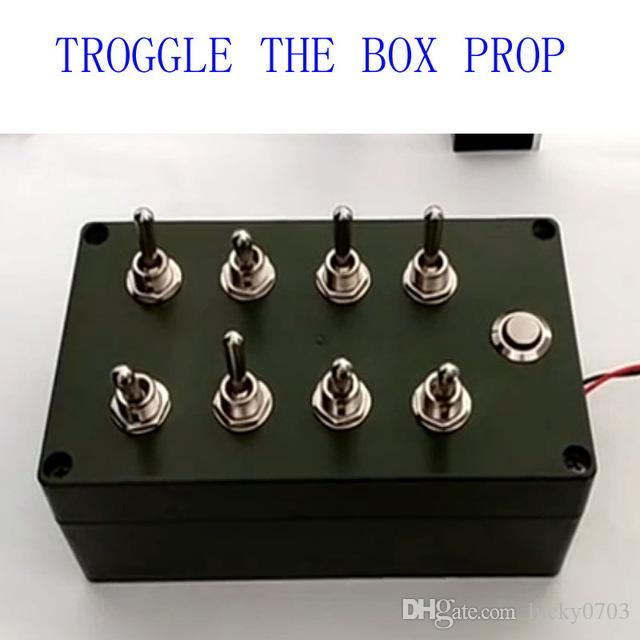 Online Cheap Takagism Game Prop Toggle Box Open The Door By ...