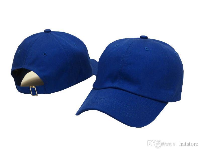 86992c2edbf Solid Unisex Summer Cap Strapback Women Men Baseball Hats Cotton Adjustable  Plain Golf Classic Fashion Snapback Casquette Outdoor Sun Hat La Cap  Flexfit Cap ...