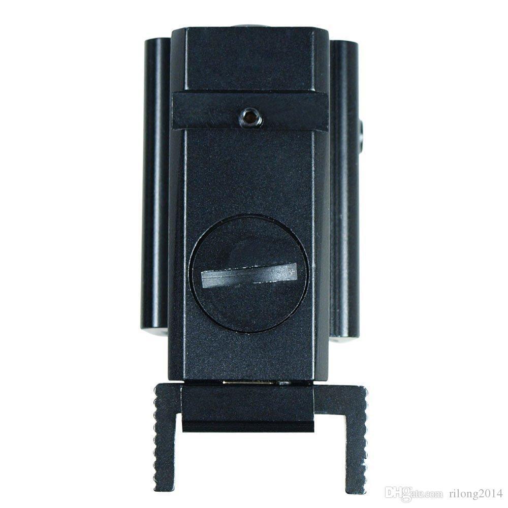 Taktische Mini Roter Punkt-Laser-Anblick-Bereich / Jagd-Laser-Bezeichner mit der Montierung kompakt für Airsoft-Pistolengewehr 3-0005