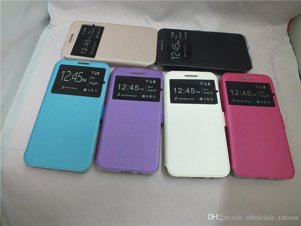 hot sale online 76589 f2deb For Motorola Moto G5 G5 Plus M G3 / G (3rd gen) /G 2015 Moto G4 / G4 Plus  (G 2016) G4 Play Window Flip Leather Phone Case MOQ:10Pcs