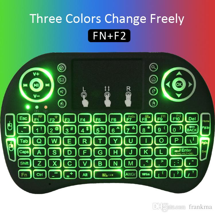 d37893e18d3 Fly Air Mouse MINI I8 Wireless Keyboard Touchpad Rechargable Keyboard Combo  For PC PAD XBOX 360 PS3 Google Android TV Box S905W X96 Mini Trackball  Keyboard ...