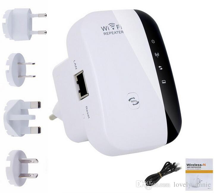 up Wireless Wifi Repeater 300Mbps Extender IEEE 802.11n b g Network Router Range Booster