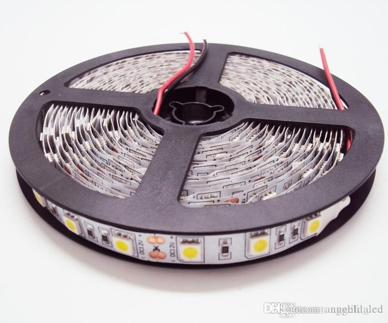 Top led strips light 12 volt 300leds 5050smd 5meters non see larger image mozeypictures Image collections