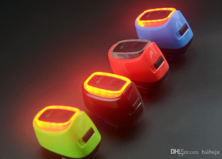 스마트 자전거 후면 다시 빛 충전식 무선 제어 방수 디자인 자전거 빛 LED 무료 배송 자전거 조명 주도