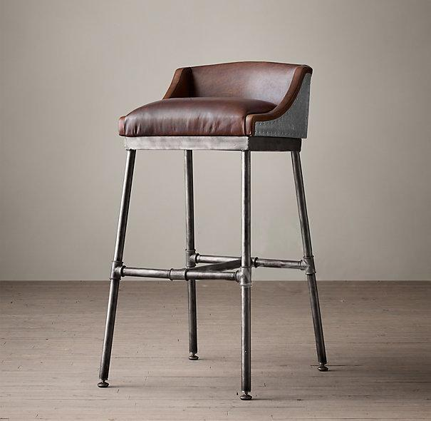 iron pipe furniture. 2018 Industrial Furniture American Retro To Do The Old Wrought Iron Pipe Fittings Chairs Bar Stools Highchair From Qiangqiangqwe, $481.21 | Dhgate.Com