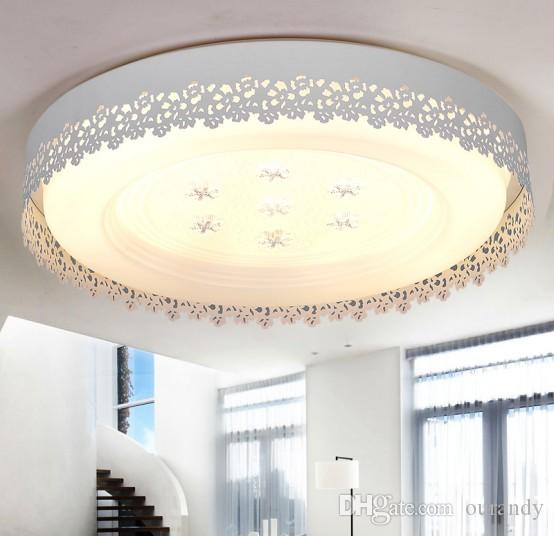 2018 contracted and contemporary led ceiling lamp natural light ikea pastoral warm romantic living room bedroom dining room study from ourandy