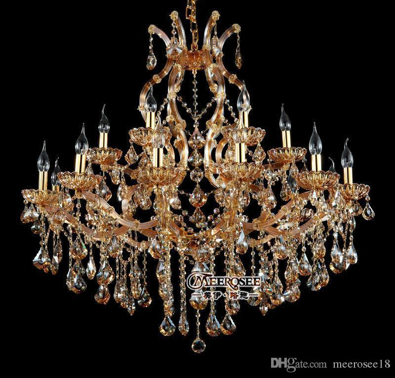 18 lightholder chandelier crystal beads modern chandelier amber 18 lightholder chandelier crystal beads modern chandelier amber lighting fixture glass cristal lustre for dining living room chandelier earrings outdoor aloadofball Gallery