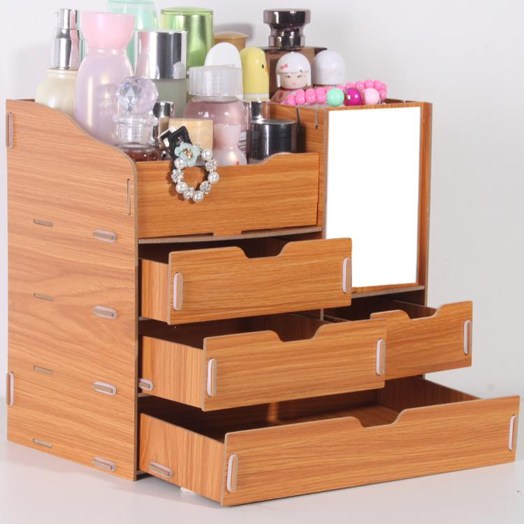 Großhandel Yjbetter 3d Holz Aufbewahrungsbox Schmuck Container Make ...