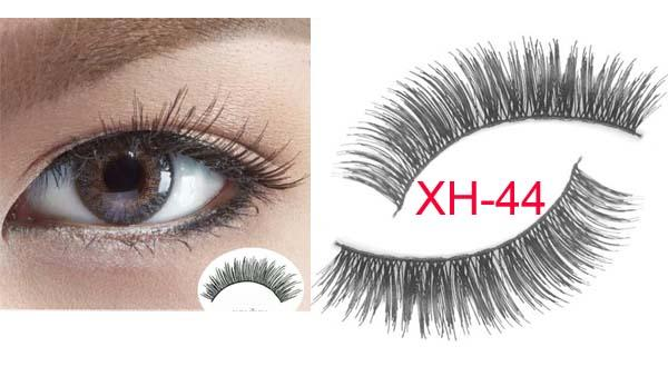XH-4410Pairs Makeup Handmade Soft Natural Fashion Long False Eyelashes Eye Lashes New