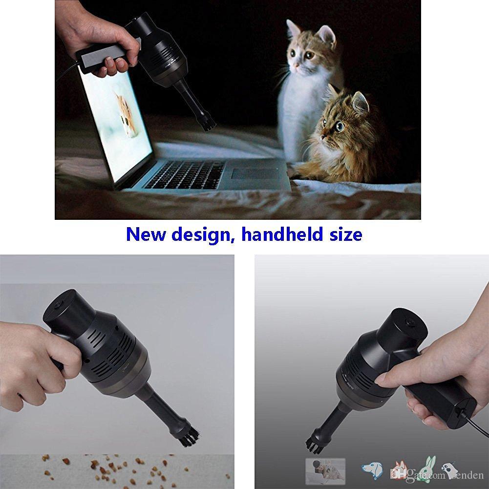 Handheld Mini USB Starke Staubsauger Staub Maschine Staubsauger Pinsel Staub Reinigungswerkzeug Mit Pinsel für Tastatur PC Laptop Tisch Auto Pet