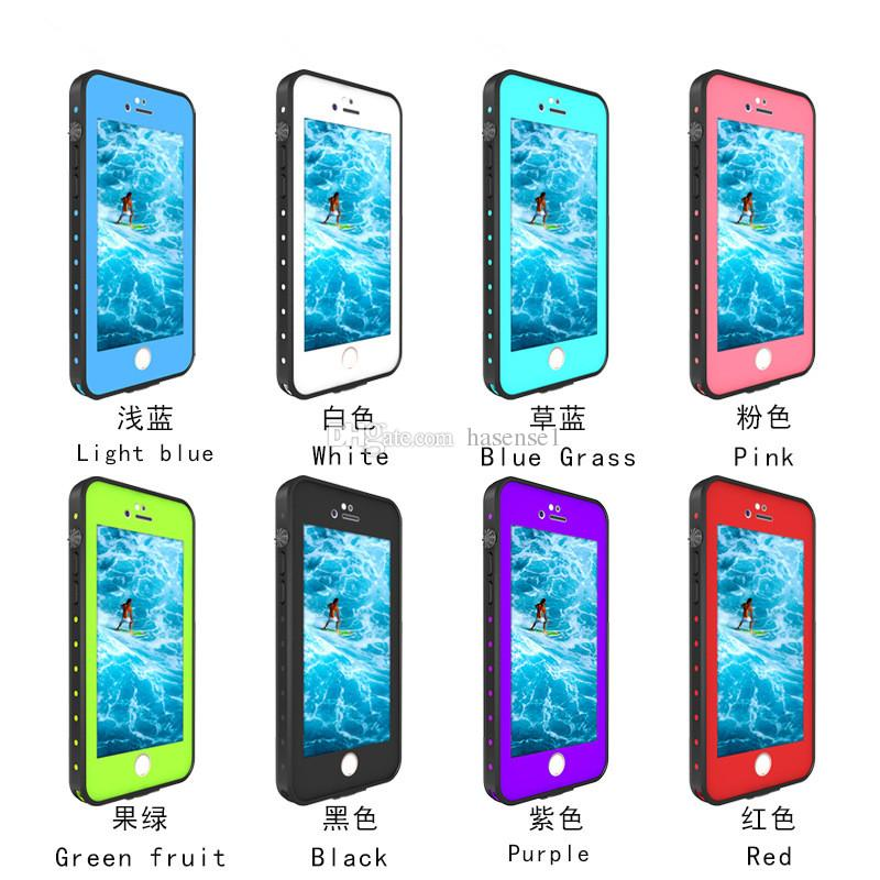 For Iphone 7 Case Redpepper Shockproof Dirtproof Cases Ip68 Waterproof Phone Dot Cover With Paper Retail Packaging Cool Cell