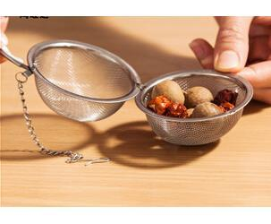 Coffee Tea Tools Infuser 4.5CM Stainless Steel Good Quality Pot Sphere Mesh Strainer Ball