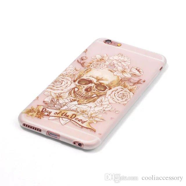 Luminous Cartoon Soft TPU Case For Iphone 6 6S Plus 5 SE 5S Huawei P9 P8 Lite Honor 5X Skin Feather Glow In Dark Wind chimes Dandelion Cover