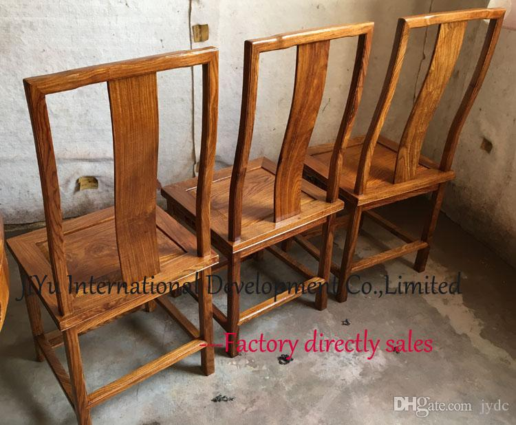 Antique mahogany furniture for home chair living room chairs luxury wood siting dinner chairs 100% African Red sandalwood