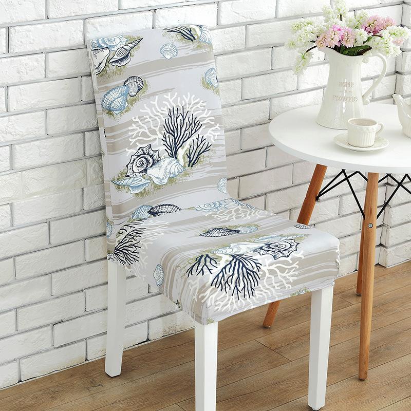 의자 커버 탄성 포스 의자 커버 Slipcovers 식당 웨딩 파티 연회 짧은 의자 커버 홈 섬유 WX-C68